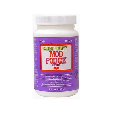 Mod Podge Hard Coat 8oz (Each)