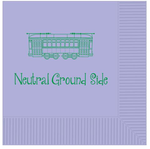 Neutral Ground Side Napkins (25 Per Pack)