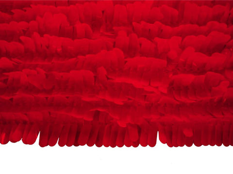 Finger Petal Paper Red Vinyl 30' x 3' (Roll)