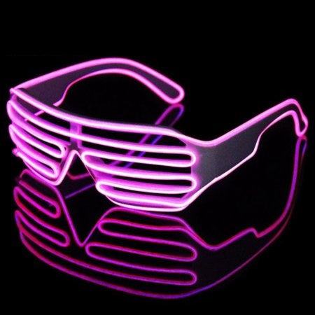 El Wire Pink Shutter Sunglasses (Each)