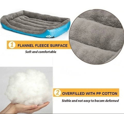Warm and Cozy Small to Large Dog Bed