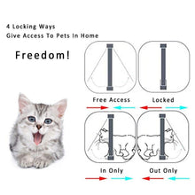 Load image into Gallery viewer, Gomaomi Dog and Cat Flap Door with 4 Way Lock Security - bcool pets