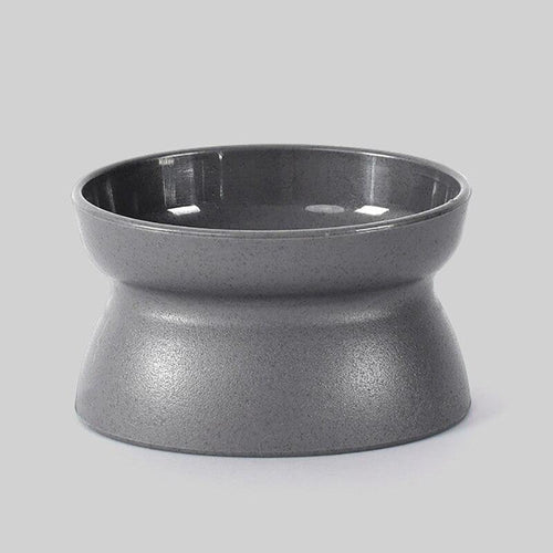 Oblique Angle Design Cat and Dog Bowl with Raised Stand - bcool pets