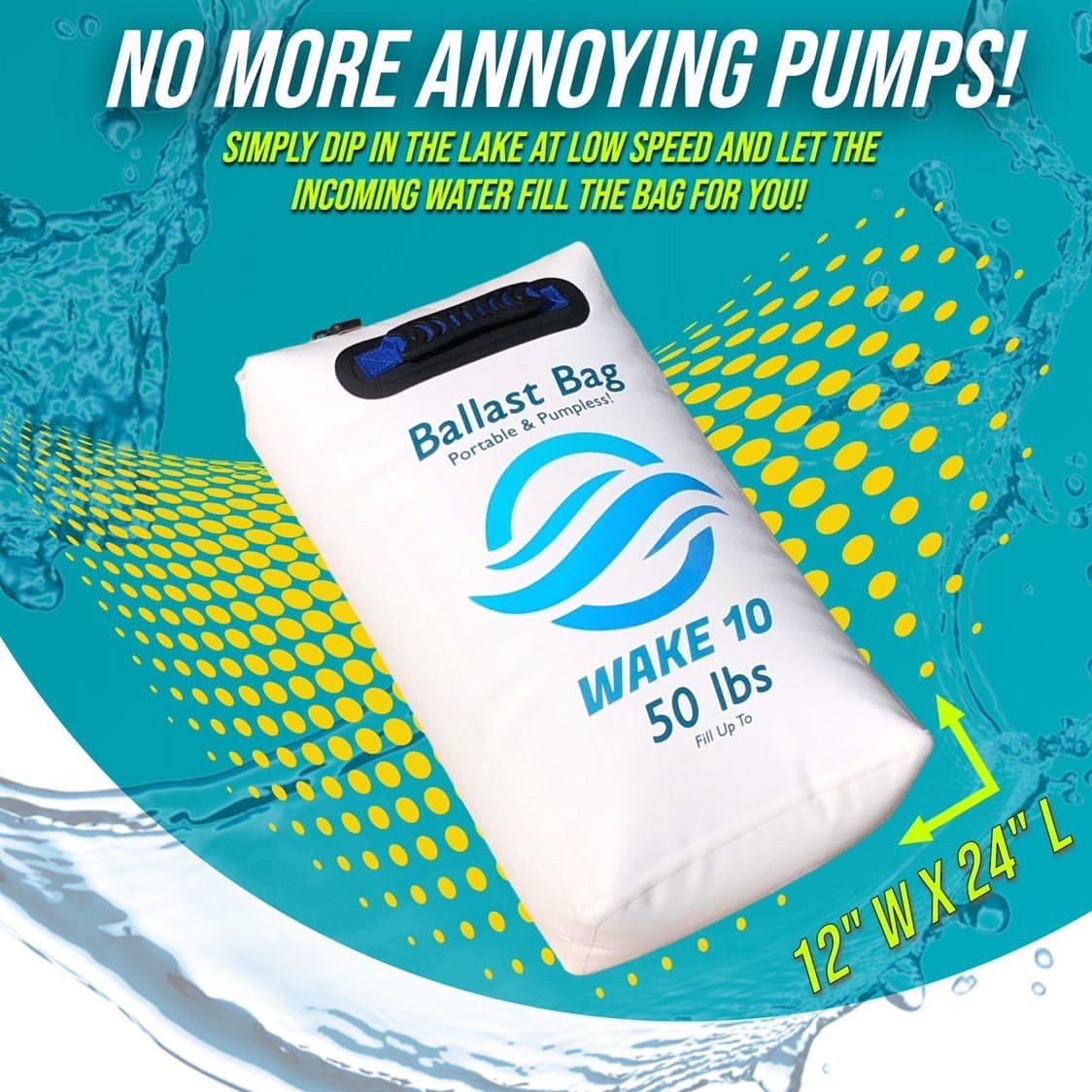 Ballast Bag Portable & Pumpless! PRE ORDER NOW! - WakeSurfing Life
