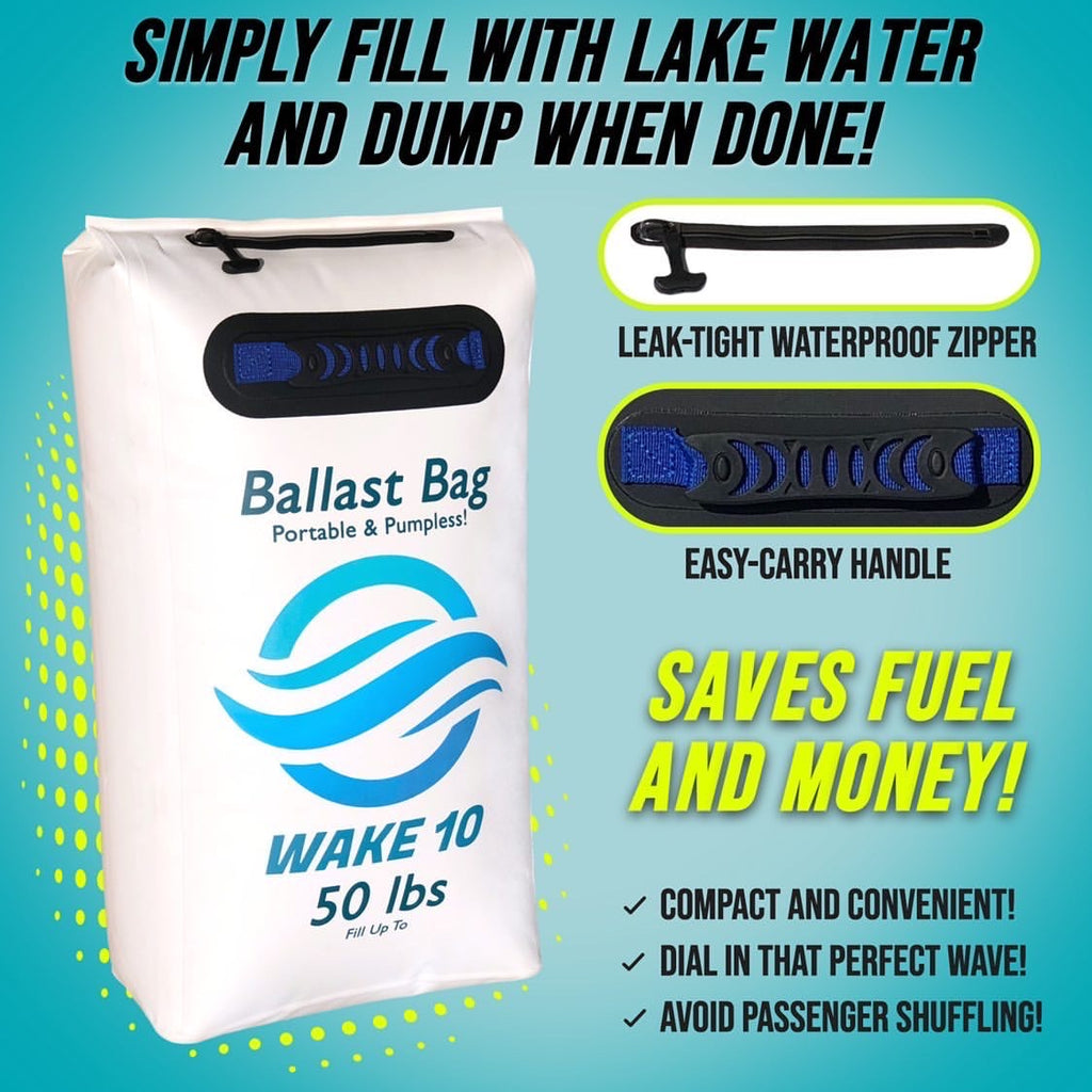 Ballast Bag Portable & Pumpless! - WakeSurfing Life