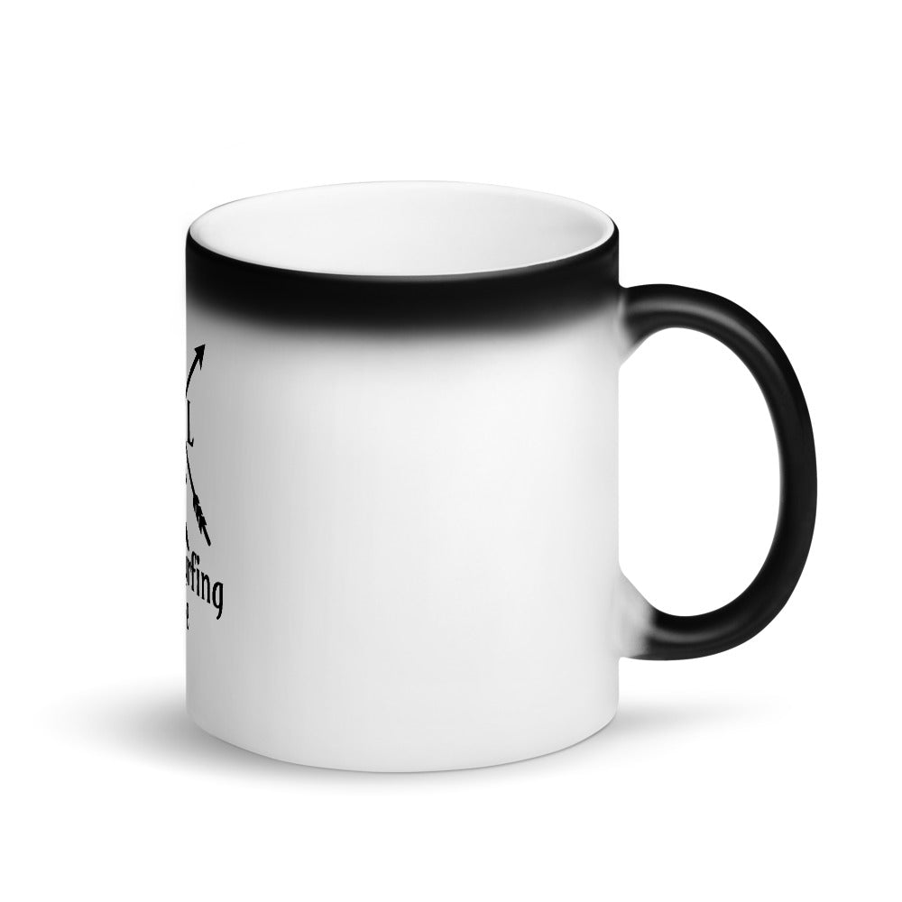 Matte Black Magic Mug - WakeSurfing Life - WakeSurfing Life