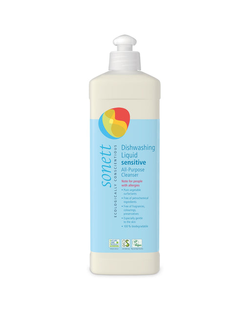 Dishwashing Liquid/ All-Purpose Cleaner sensitive 17 fl.oz/  0.5 L