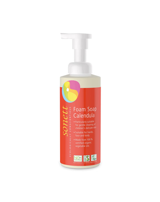 Foam Soap for Children Calendula (6.8 fl oz/200ml)