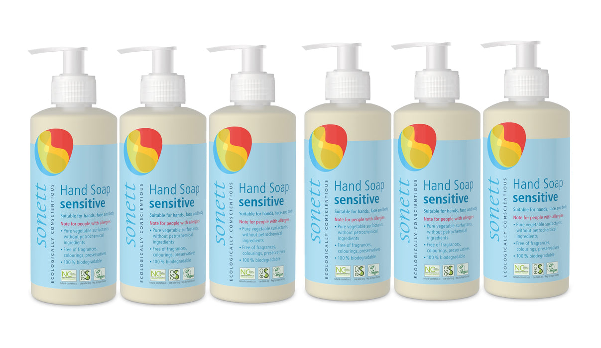 Hand Soap Sensitive (10 fl.oz/ 300ml)