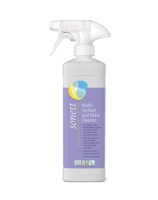 Multi-Surface Sanitizing Glass Cleaner 17 fl.oz/ 0.5L