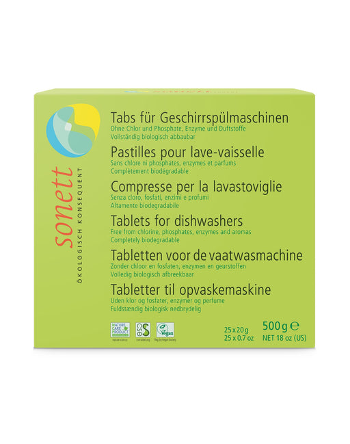 Dishwasher Tablets (25 tablets x 0.67oz,18 fl.oz/ 500gr)