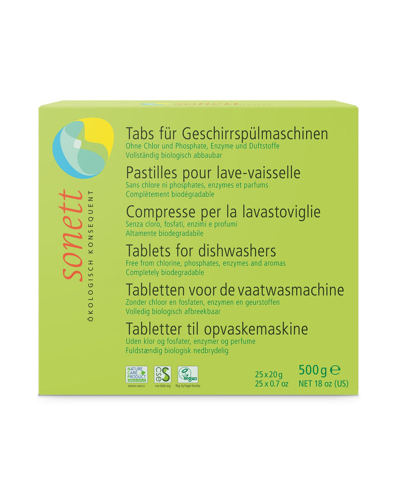 Dishwasher Tablets 25 tablets x 0.67oz,18 fl.oz/ 500gr