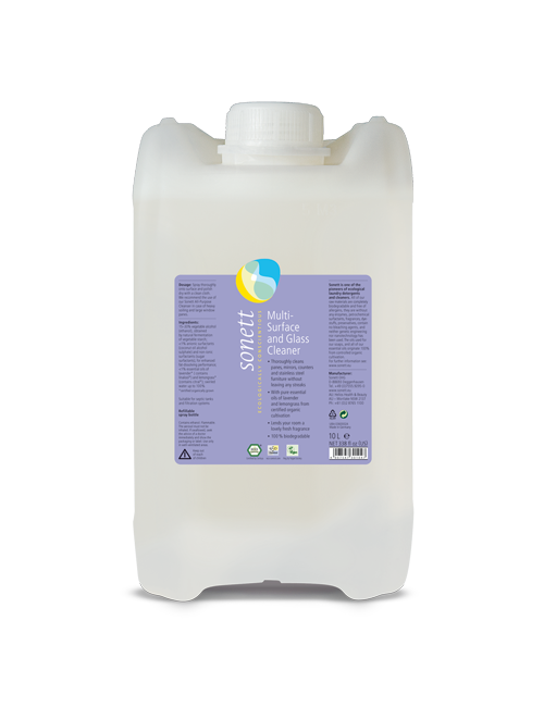 Multi-Surface and Glass Cleaner (2.6 gal/10L)