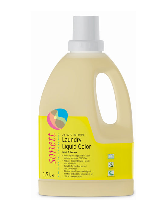 Laundry Liquid Color Mint & Lemon (53 fl. oz/1.5 L)