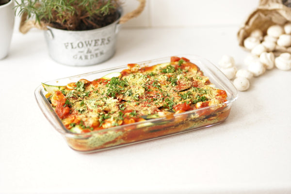 Veggie Lasagna created by Luana Marchi. (Gluten Free & Vegan friendly)