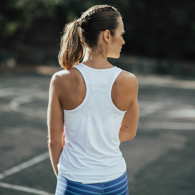 Ladies Tank - For The Love Of White