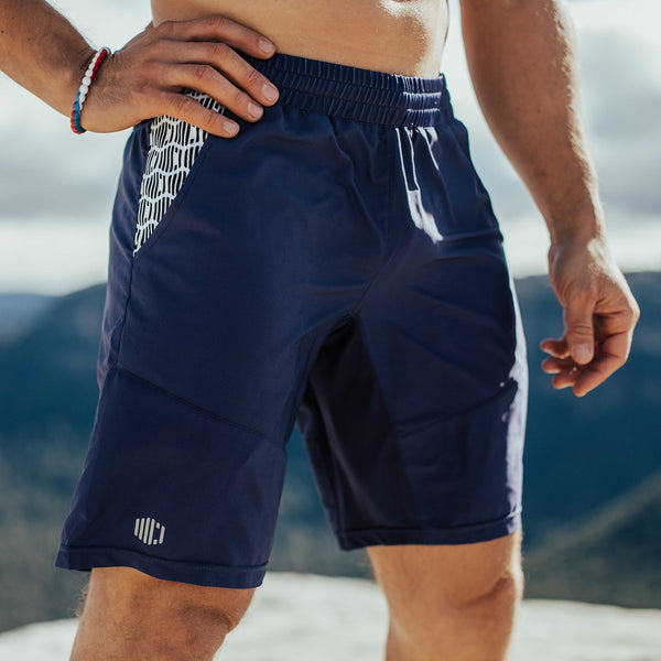 Men's Imapct Shorts - Purple Rain