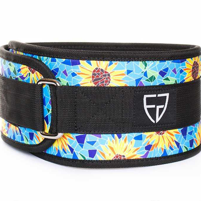 Fortify Gear Sunflower Velcro Belt (OUT OF STOCK)