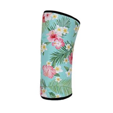 WORKT 7mm 'Limited Edition' Knee Sleeves/Floral (sold as a pair) SOLD OUT!!!
