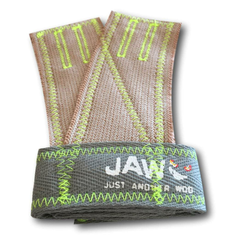 Jaw Glove's - Silver/Fluro Green