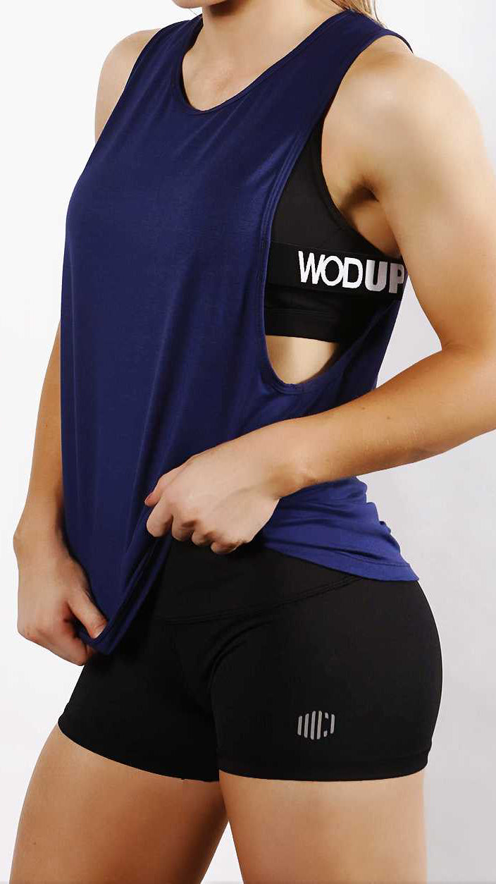 Ladies' Impact Tank - Navy