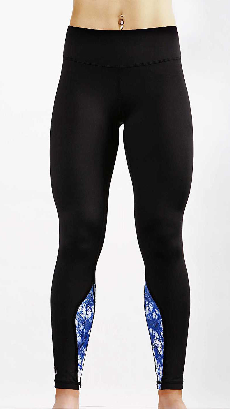 Ankle Freezer Leggings - Not So Jane - Blaze/Black