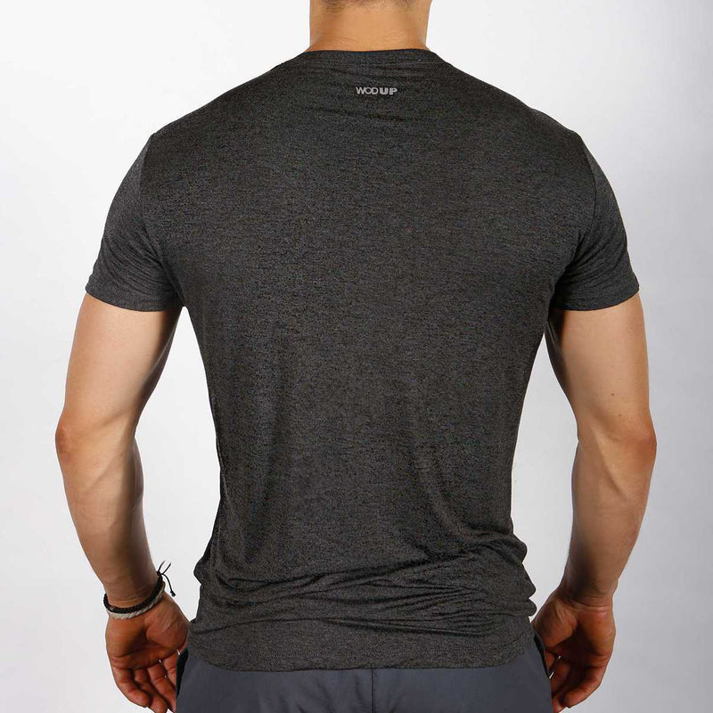 Men's Impact T - Heather Black/Olive