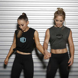 Unisex Impact Tank - Heather Black/Black