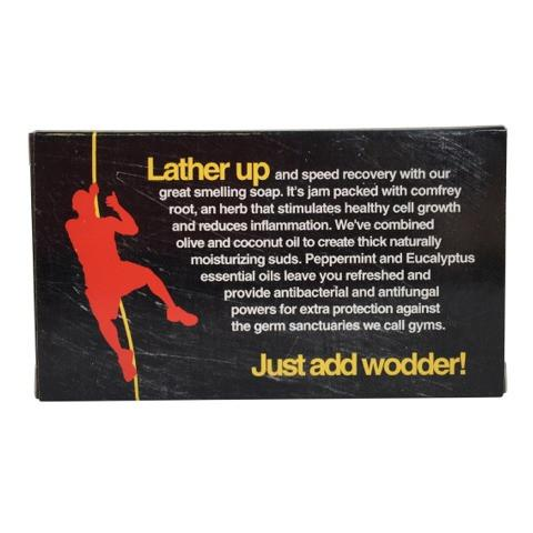 W.O.D.Welder Peppermint and Eucalyptus Soap Bar
