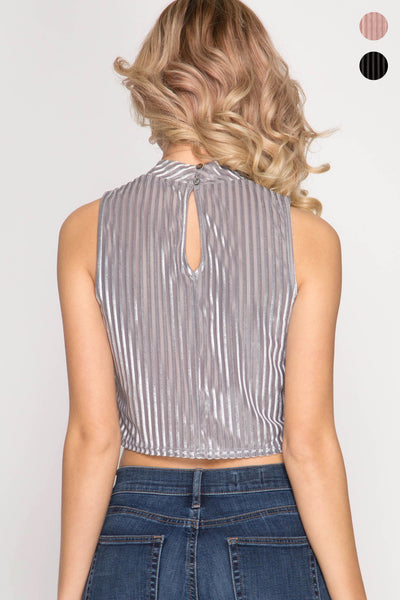 Stacia Crop Top