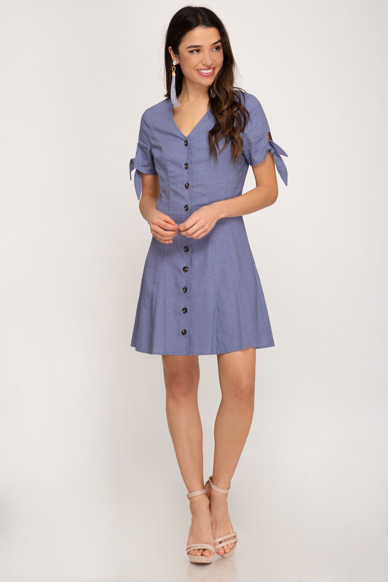 Janessa Button Down Dress