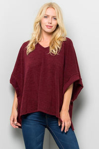 Cherie Poncho Top
