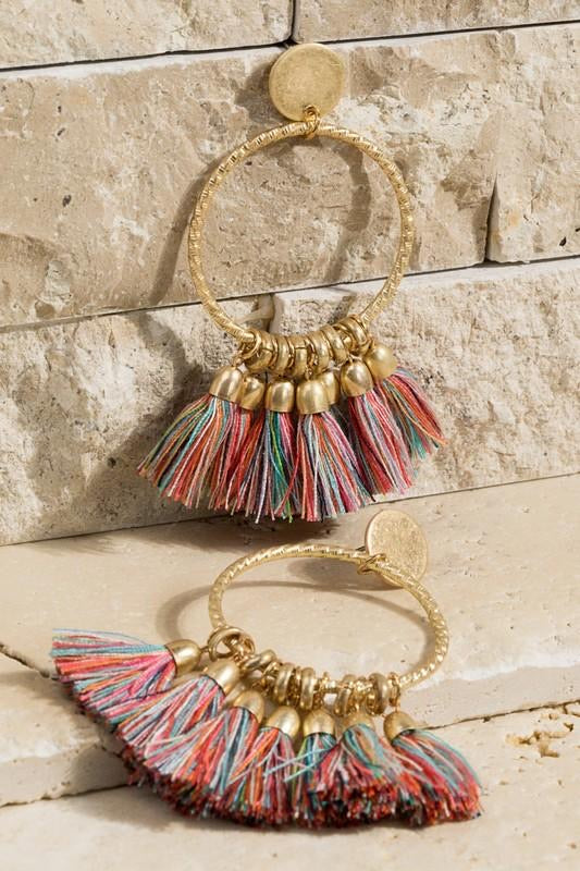 Markle Tassel Earrings