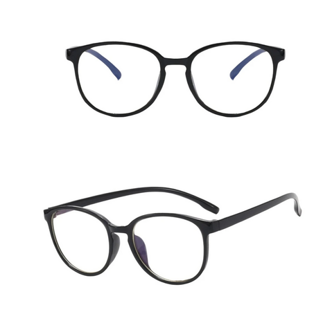 Blue Light Blocker Glasses (Thin Black)