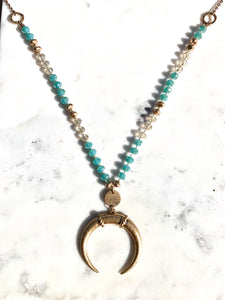Adella Necklace Turquoise