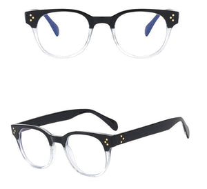 Blue Light Blocker Glasses (Clear/Black)