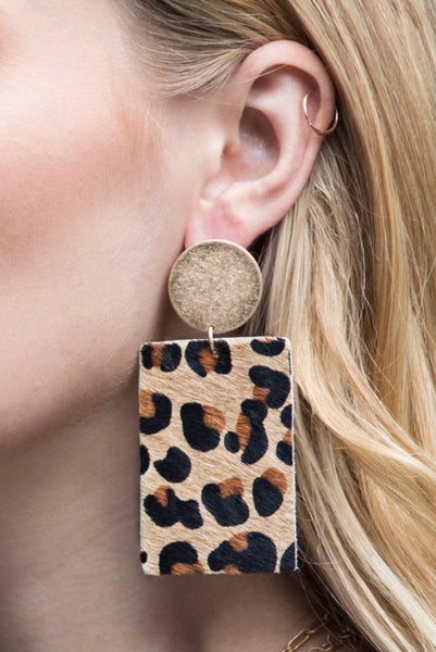 Cammy Leather Earrings