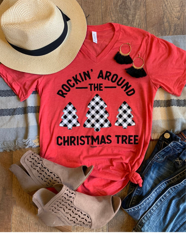 Rockin' Around The Christmas Tree Tee