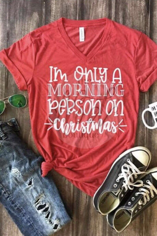 Christmas Morning Tee