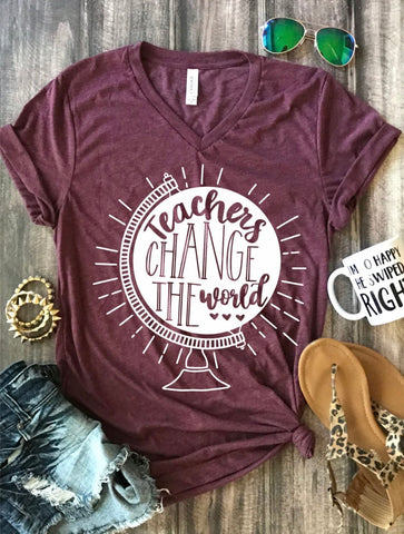 Teachers Change The World Tee