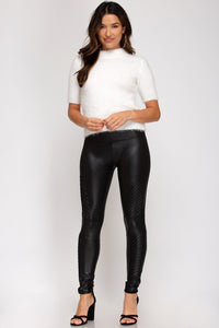 Zeppelin Moto Leggings