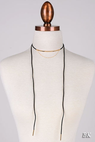 Dee Dee Wrap Necklace