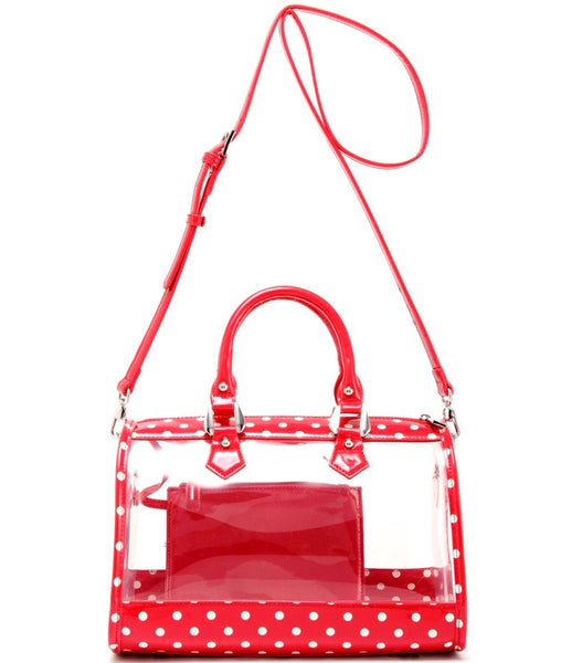Moniqua Clear SCORE!™ Stadium Compliant Satchel