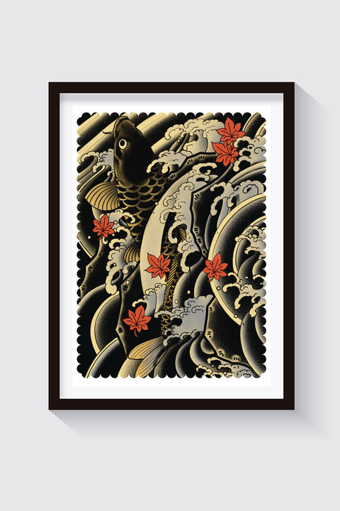 Koi, prints by Crez