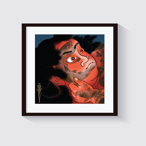 Kintaro, limited edition print by Crez
