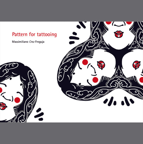 Pattern for tattoing, ebook By Crez
