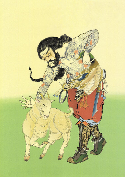 Tessenshi Sōsei, limited edition print by Crez