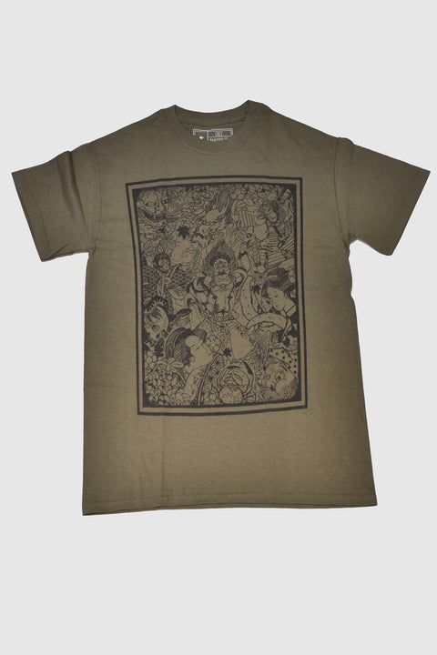 Buddha, T-shirt by Crez