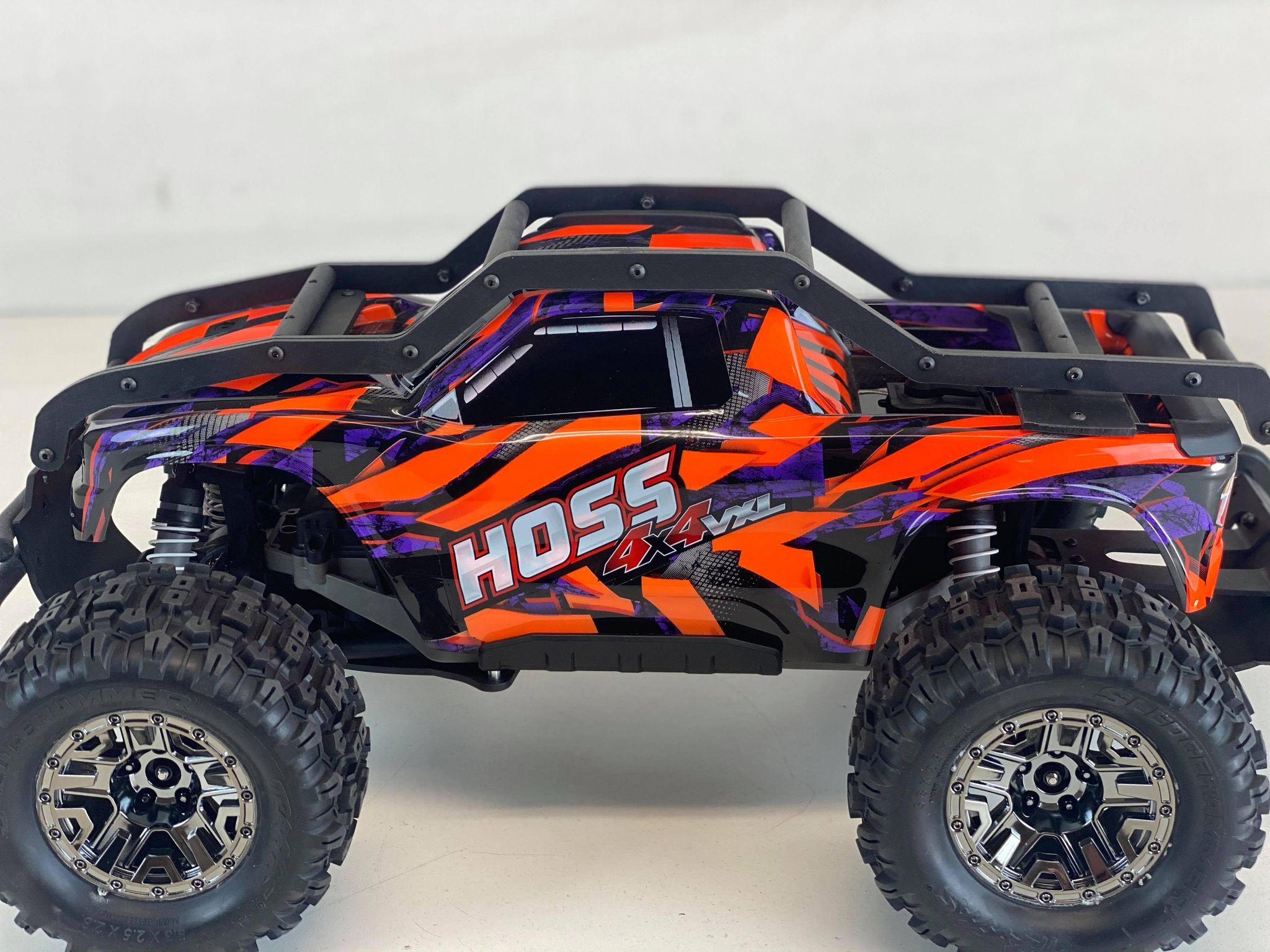 TBR R2 EXO Cage External Roll Cage - Traxxas HOSS - 00003