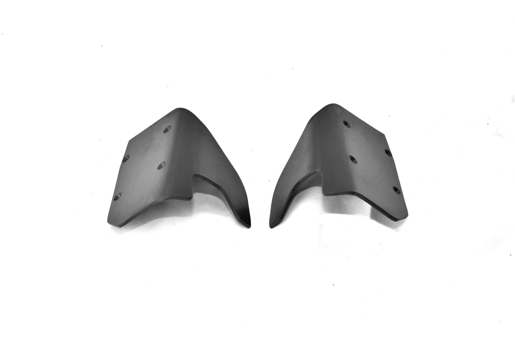 TBR Rear A-Skid/Mud Guards - A-Arm Skid Plates -- Helion Select Four 10TR